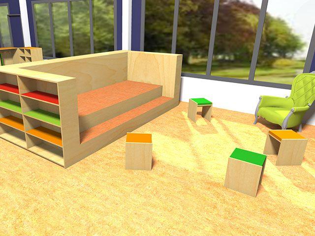Maatwerk klassehout meubilair voor primair onderwijs for Meubilair basisschool