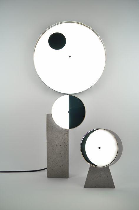 Lampes Eclipse Syzygy Sophie Menser Peet Luminaire Lampe