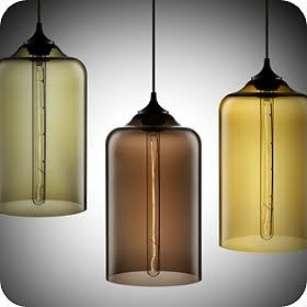 Beautiful Hand Blown Glass Pendant Lights