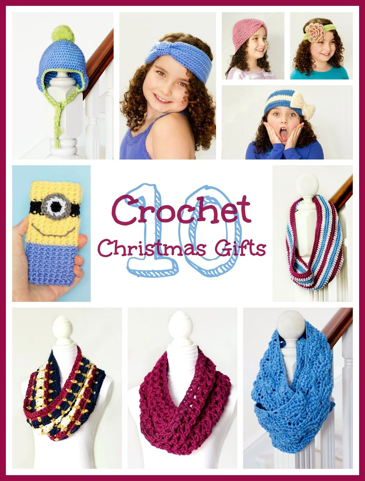 10 Quick & Easy Crochet Christmas Gifts | Crochet christmas gifts ...