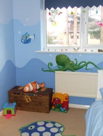 Underwater Theme Bedroom