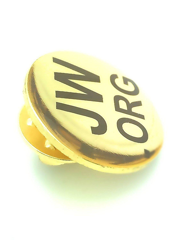 Amazon.com : Jw.org Golden Lapel Pin 5 Pins : Everything Else