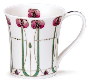 Dunoon China - Rennie Mackintosh mug