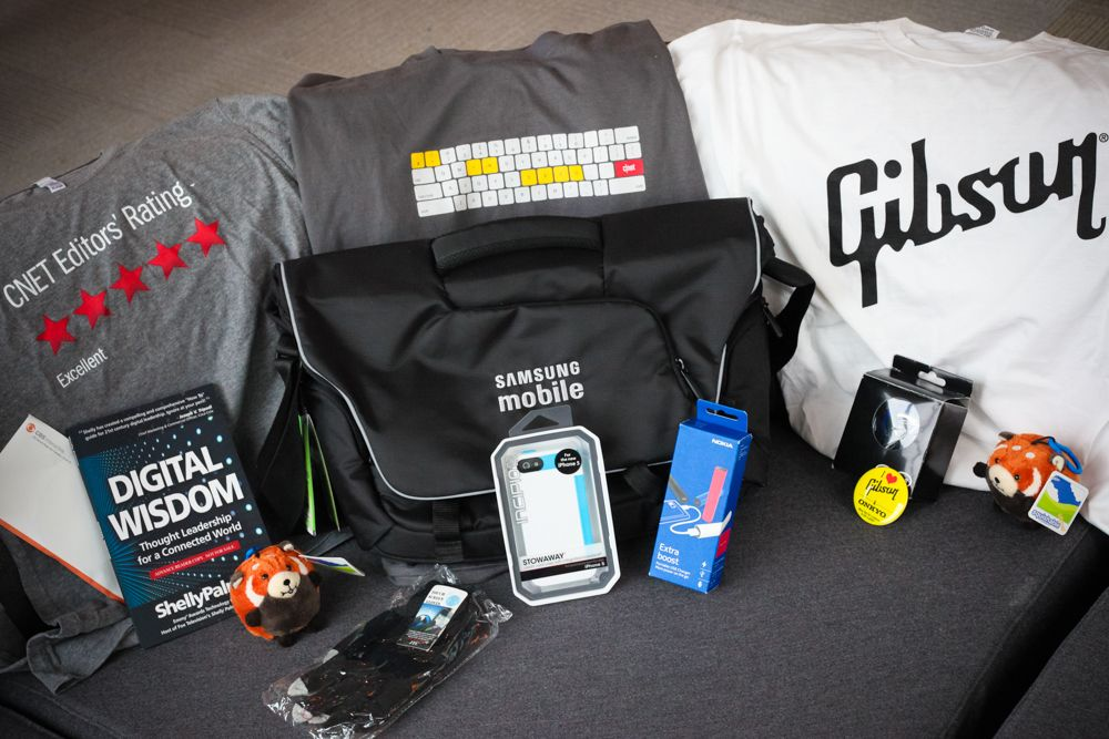 Crave giveaway: Big bag of CES 2013 swag, the sequel | Pinterest ...