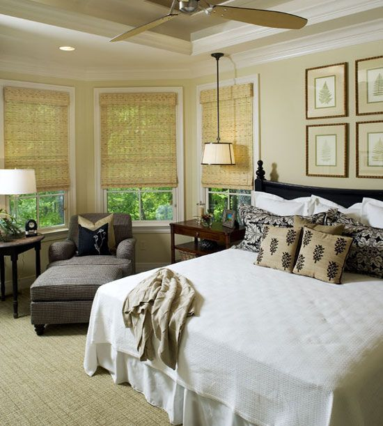 Master Bedroom of The Laurelwood - House Plan Number 5024 same as ...