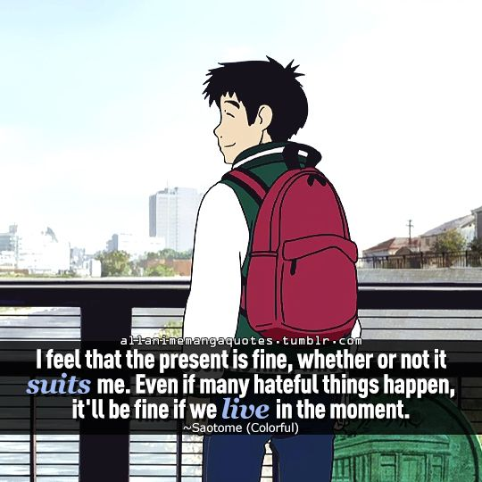 The Source Of Anime Manga Quotes Requested By Peppermint Paradise Fb Twitter Anime Quotes Colorful Anime Movie Colorful Movie Colorful anime movie wallpaper