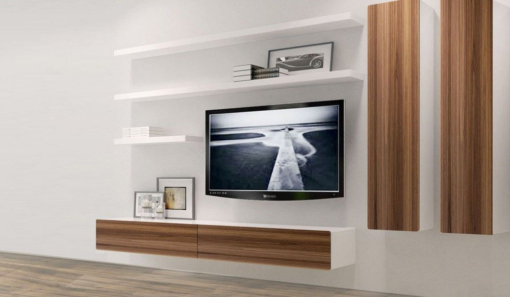 Image Result For Floating Cabinet Tv Wall Entertainment Center