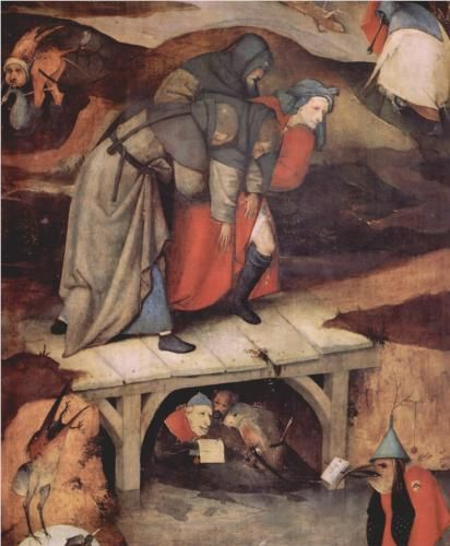 The Temptationof St.Anthony (detail) - Hieronymus Bosch 1516