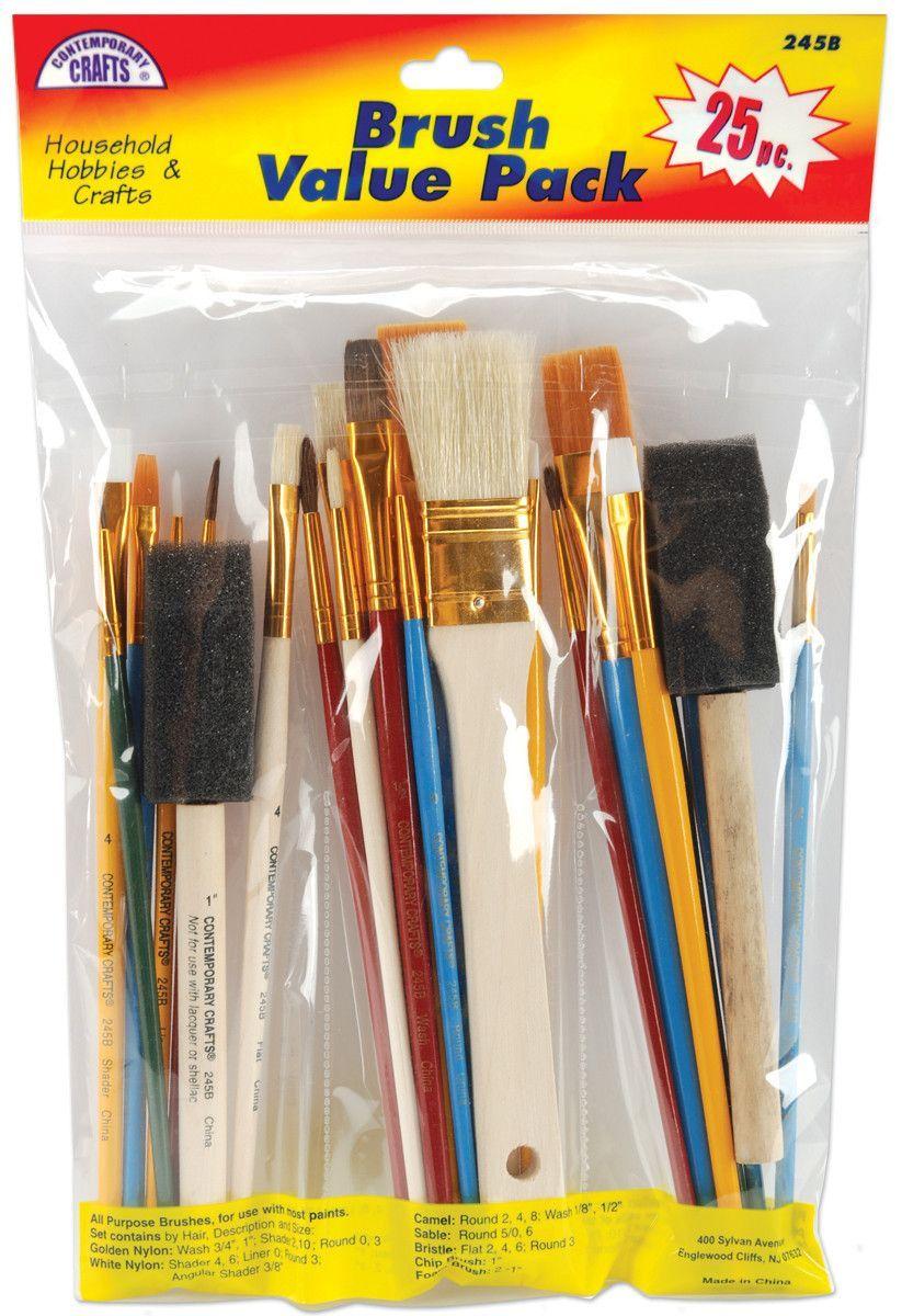 Brush Set Value Pack 25pk Birthday gifts for best friend