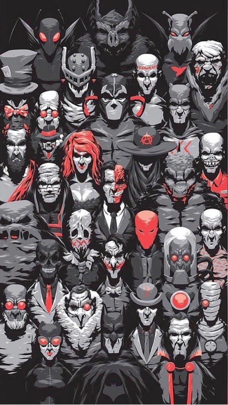 Batman Rogues Batman Batman Universe Superhero