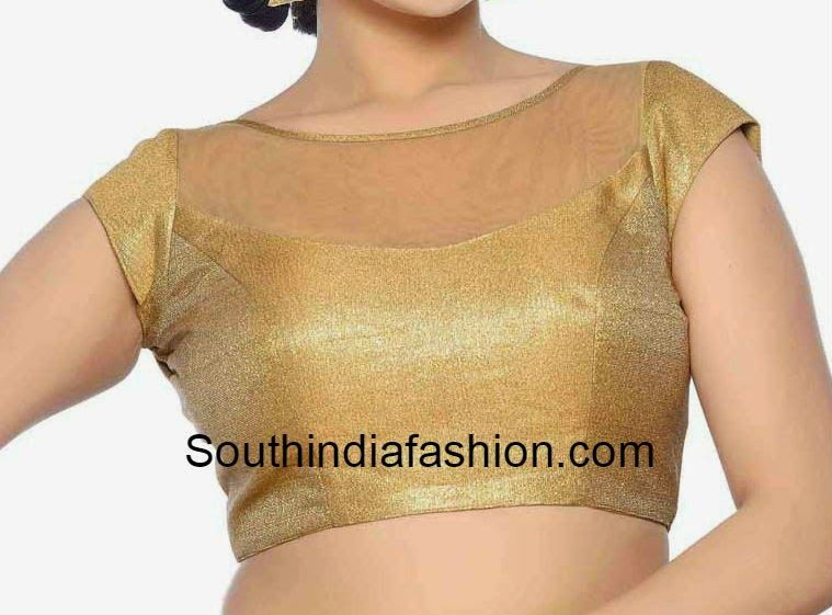 net blouse designs | Saree blouses | Pinterest | Blouse designs ...