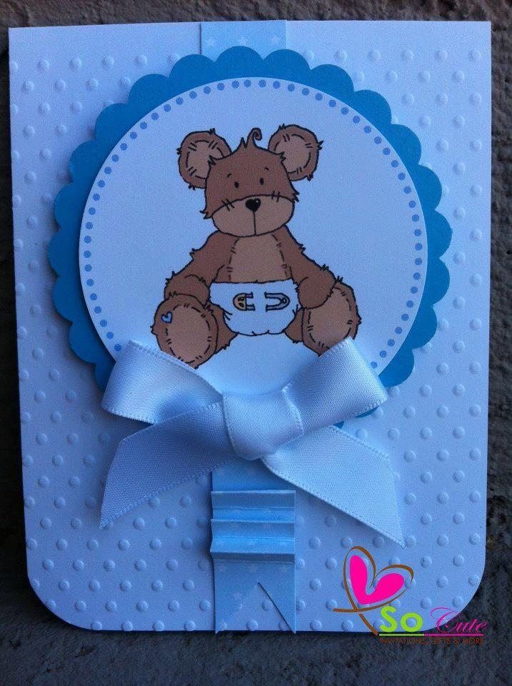 invitacion oso