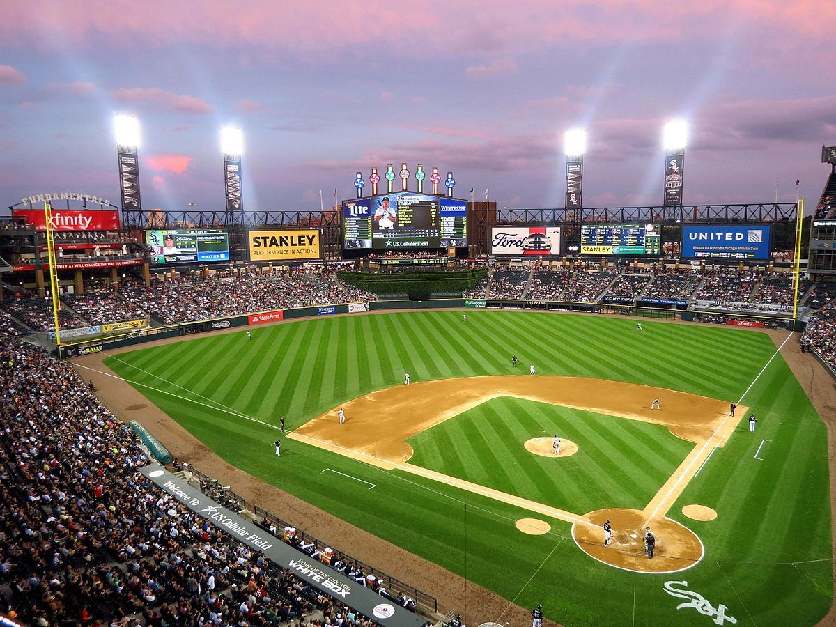 Guaranteed Rate Field Wikipedia Chicago White Sox Mlb Stadiums Field
