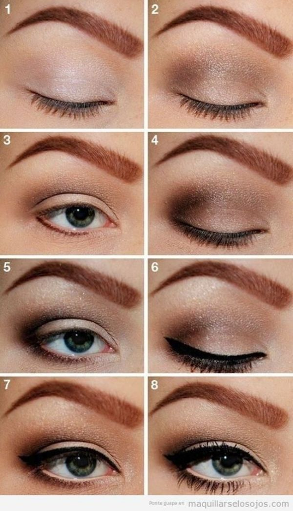 Photo of #Augen #die #effektvolle # für #leichte #Makeup
