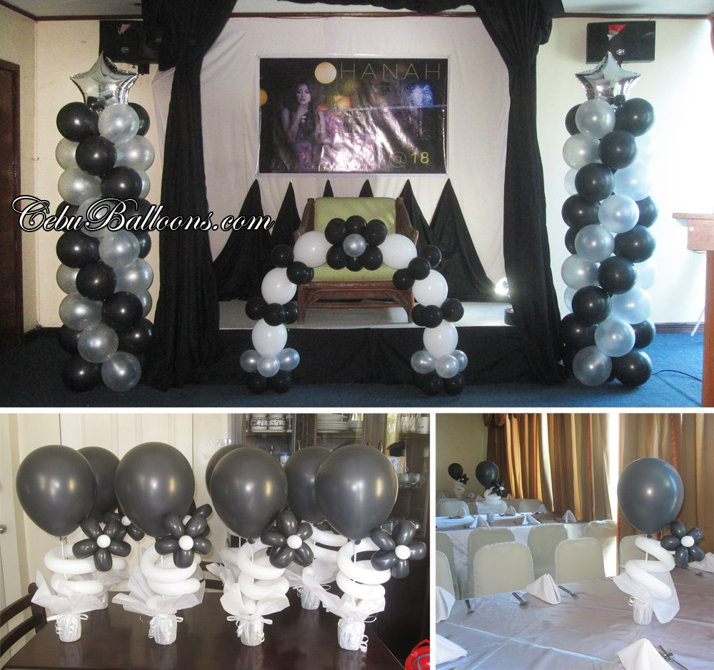 black balloon arch - google search | bday | pinterest | balloon arch