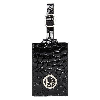 Kare Hill luggage tag croc