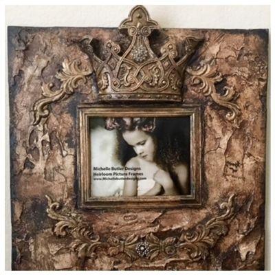 Michelle Butler Designs King George Heirloom Frame 24x24
