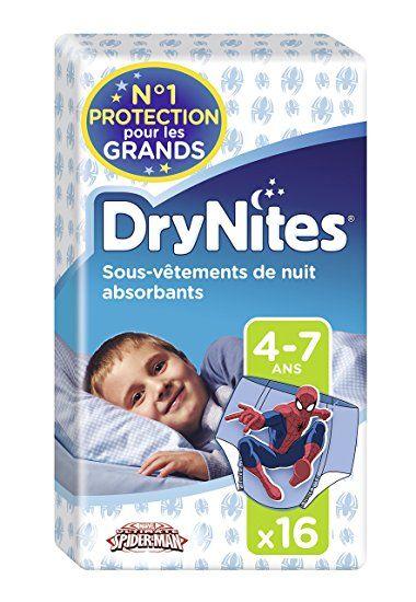Huggies DryNites 2/x 30/sous-v/êtements de nuit absorbants pour gar/çon 4-7/ans