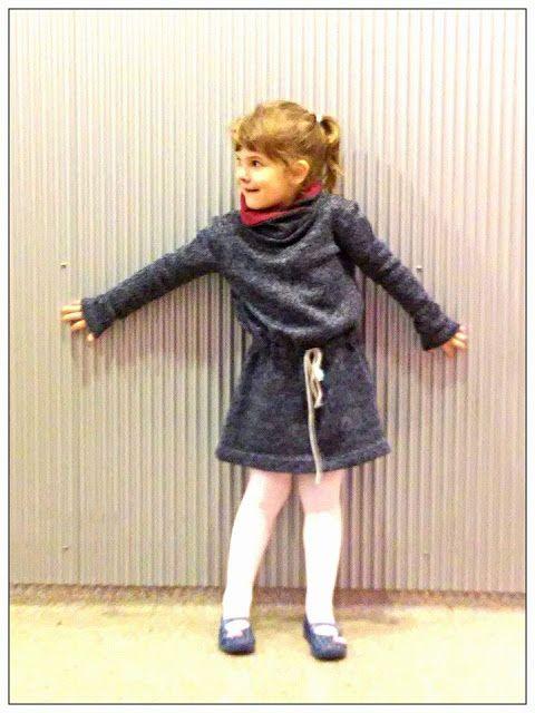 Swetrowa sukienka | Magdiczka