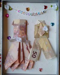 Geldgeschenk Karte Hochzeit Basteln.Geldgeschenk Hochzeit Marlies Rennertz Geldgeschenke