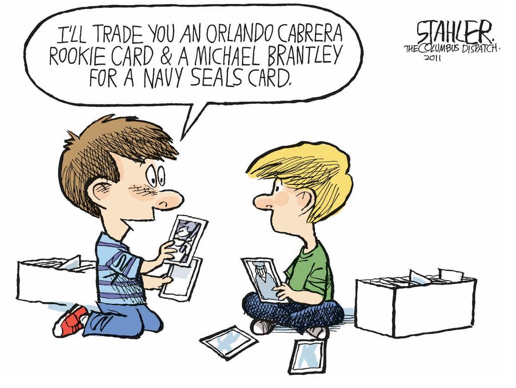 Navy Seals Cartoons Cabrera Rookie Card A Michael Brantley