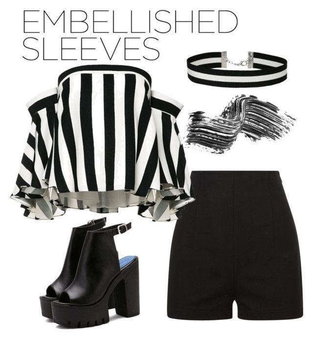 """Slevees"" by yessi3 ❤ liked on Polyvore featuring Milly, Miss Selfridge and Illamasqua"