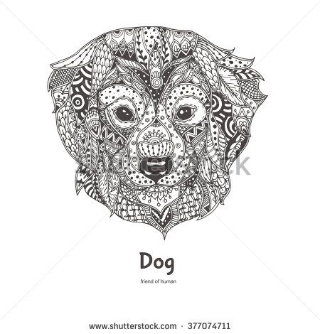 Dog tattoo Stock Photos, Images, & Pictures | Shutterstock