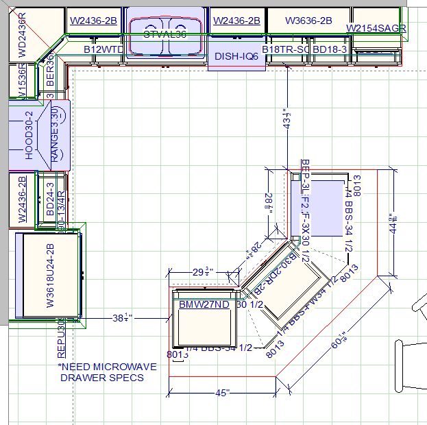 Inline Image 1 Kitchen Design Plans Kitchen Floor Plans Kitchen Layout Plans