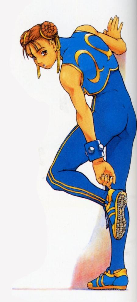 Comic Vine Street Fighter Art Chun Li Street Fighter Street Fighter Alpha