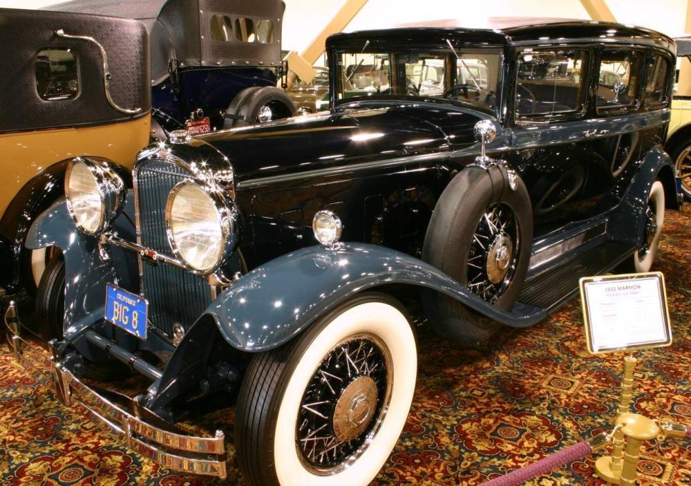 1930 marmon big eight 112 hayes sedan antique cars for Hayes motor company trucks