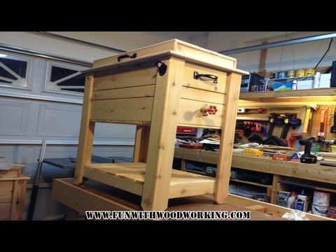Project - How to make a rustic cedar ice chest / cooler box! - - –� Project - How To Make A Rustic Cedar Ice Chest / Cooler Box