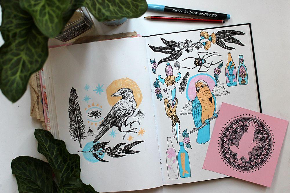 Rachel Urquhart's sketchbook