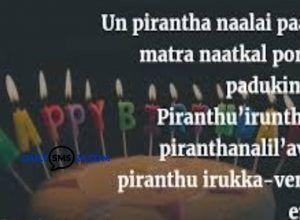 Tamil Birthday Wishes For Friendbrothersisterhusbandwifelover
