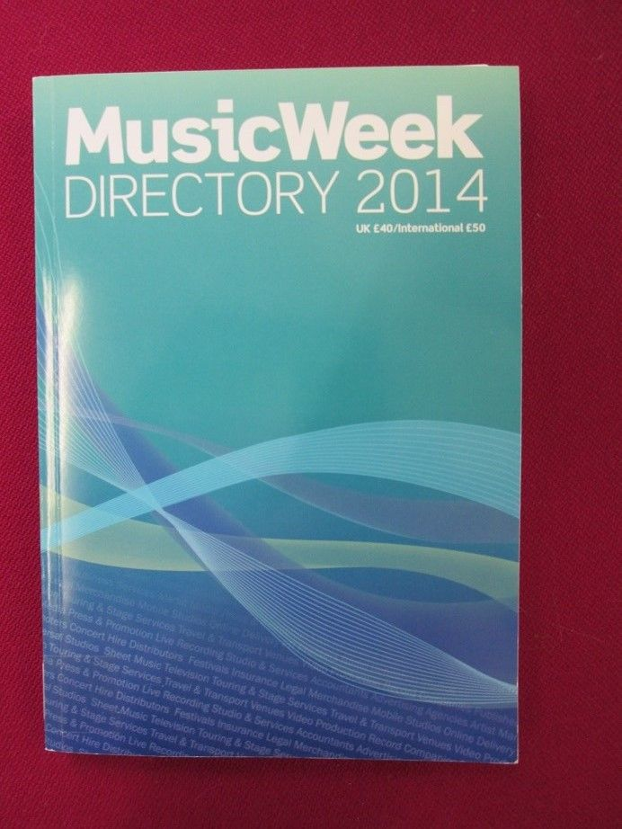 Music Week Directory 2014 This At A Glance Guide Will Help You