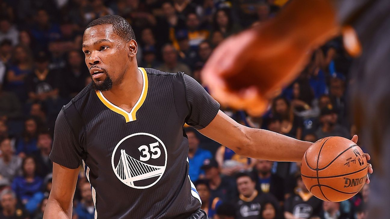 Durant tallies doubledouble in first game back Knee