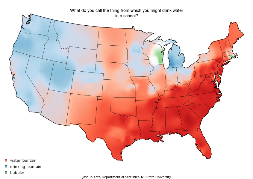 22 Maps That Show How Americans Speak English Totally Differently From One Another American Accent Linguistics Bubbler