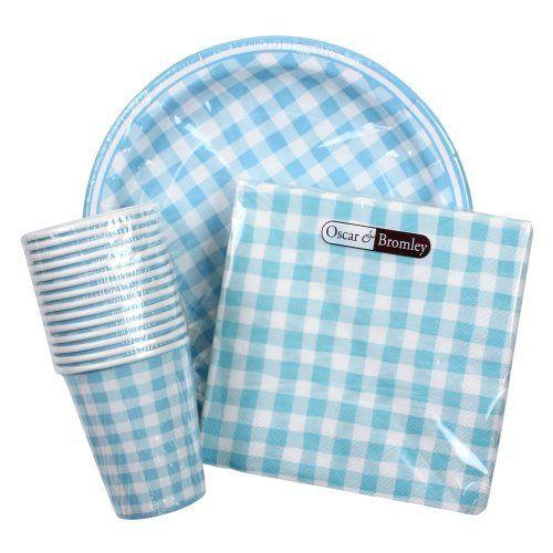 Paper Cups Plates \u0026 Napkins - Partyware Set - Spotty Pink Pink Flower \u0026 Blue  sc 1 st  Pinterest & Paper Cups Plates \u0026 Napkins - Partyware Set - Spotty Pink Pink ...