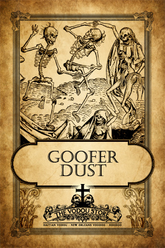 Hoodoo Magick Rootwork Goofer Dust. Halloween potions