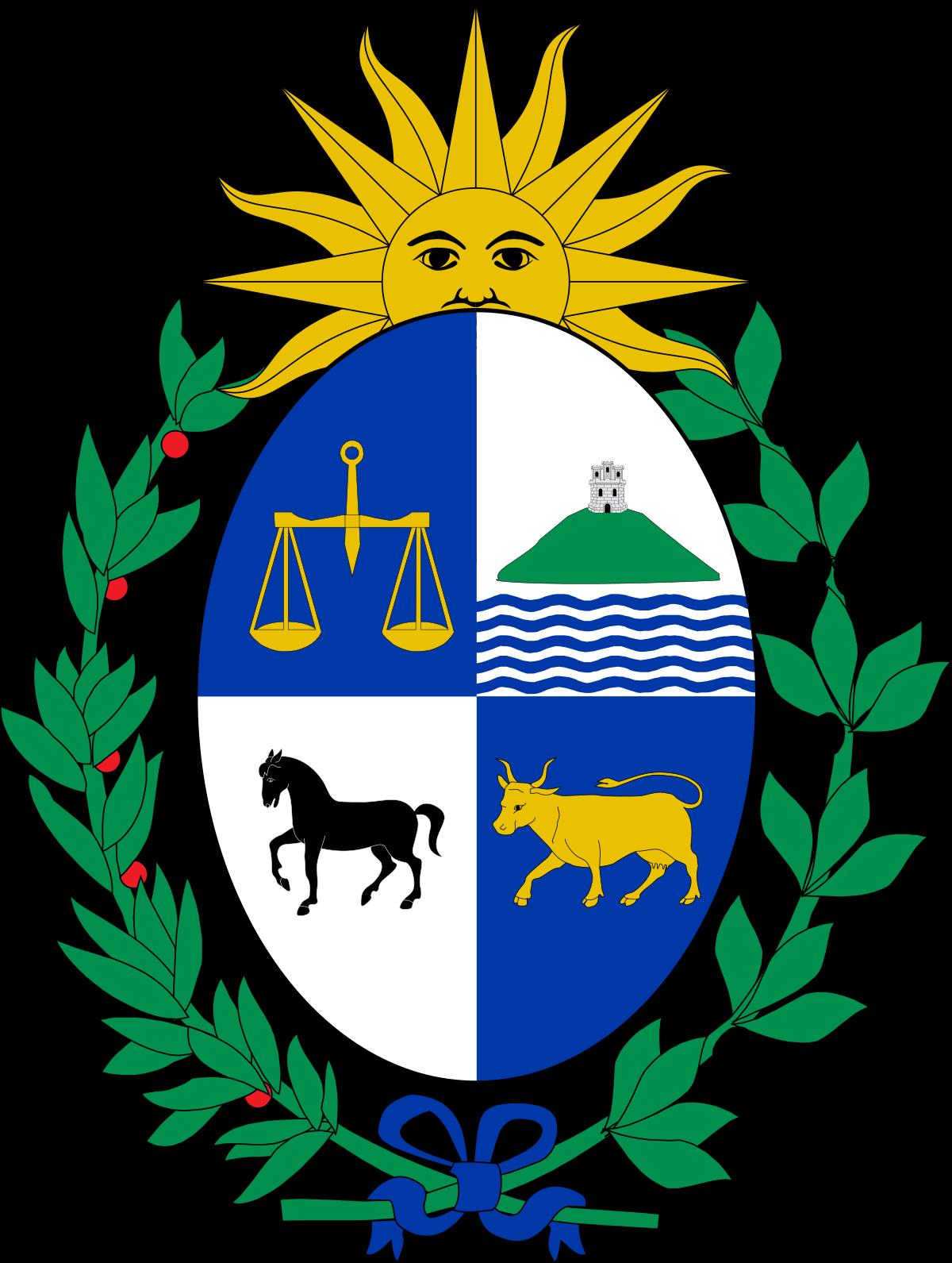 Escudo De Uruguay Wikipedia La Enciclopedia Libre Uruguay Bandera Uruguay Republica Oriental Del Uruguay