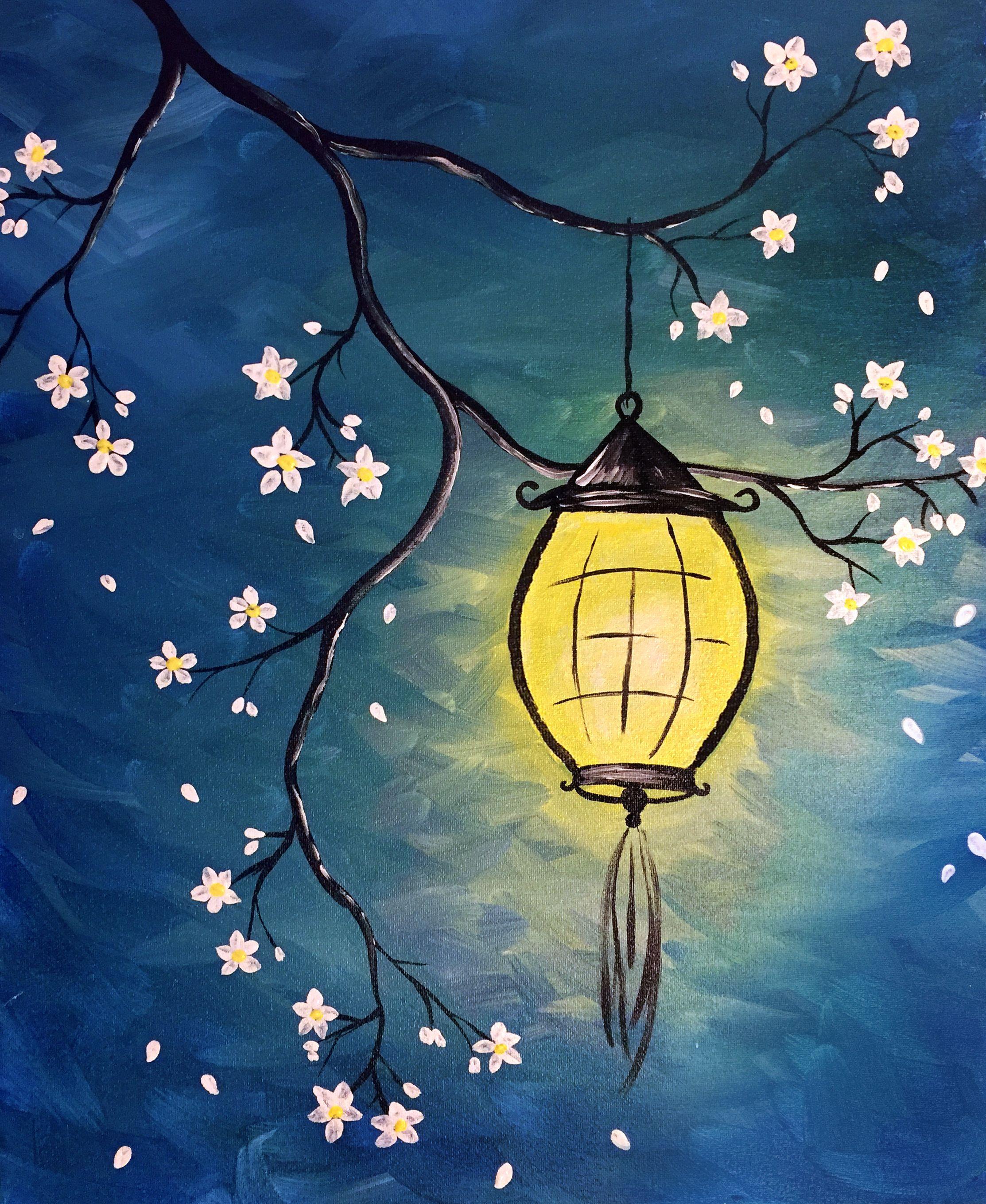 Beginner Acrylic Painting Ideas Tree