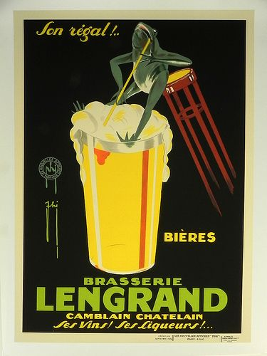 """""""Lengrand"""" Vintage French Advertising Poster at Smith ..."""