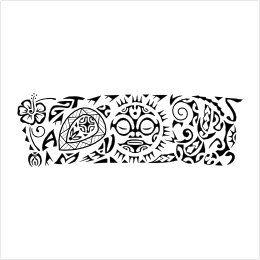 Family armband tattoo