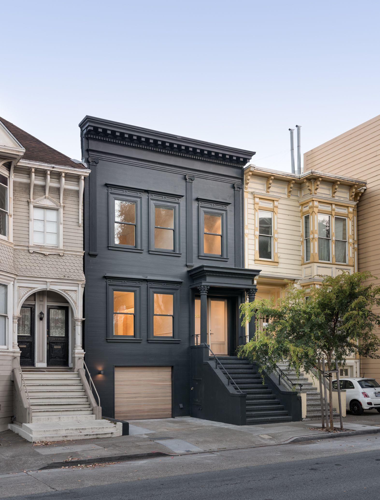 Modern Townhouse Townhouse Designs San Francisco: Pine Street Home Remodel – Modern Luxury Design