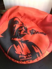 Star Wars Bean Bag Chair Orange Darth Vader Rare 20 X 12 Vintage