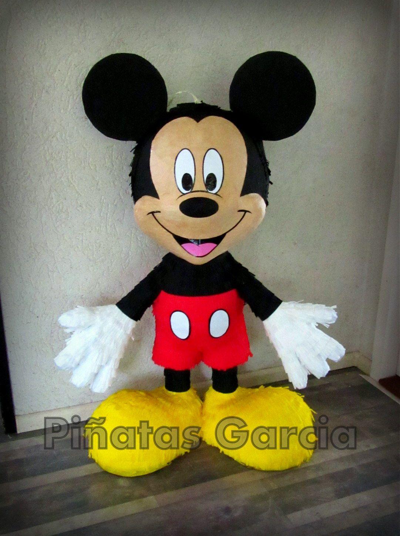 Pinata Mickey Mouse Disney | party ideas | Pinterest | Mickey mouse ...