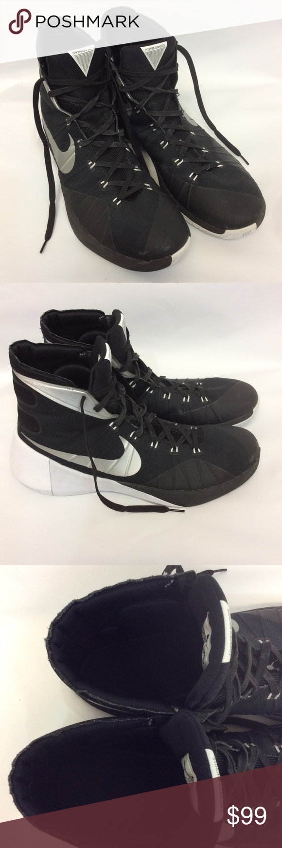 d8a4a6166fc Black Nike Hyperdunk Shoes