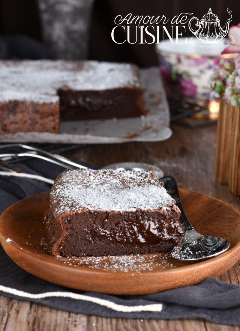 gateau au chocolat moelleux et fondant - Amour de cuisine