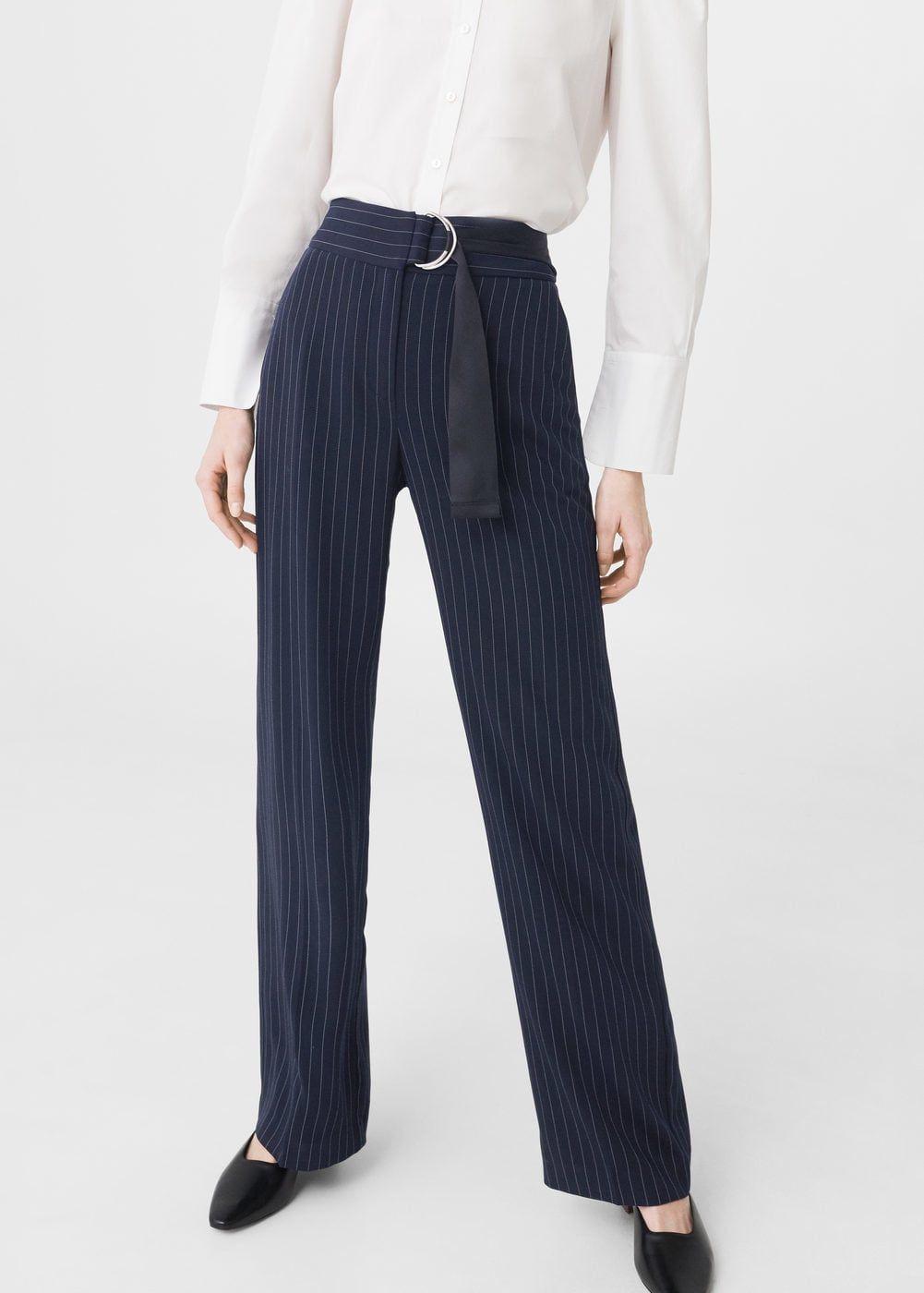 Krijtstreepbroek Dames Outlet Nederland Work Trousers Pants