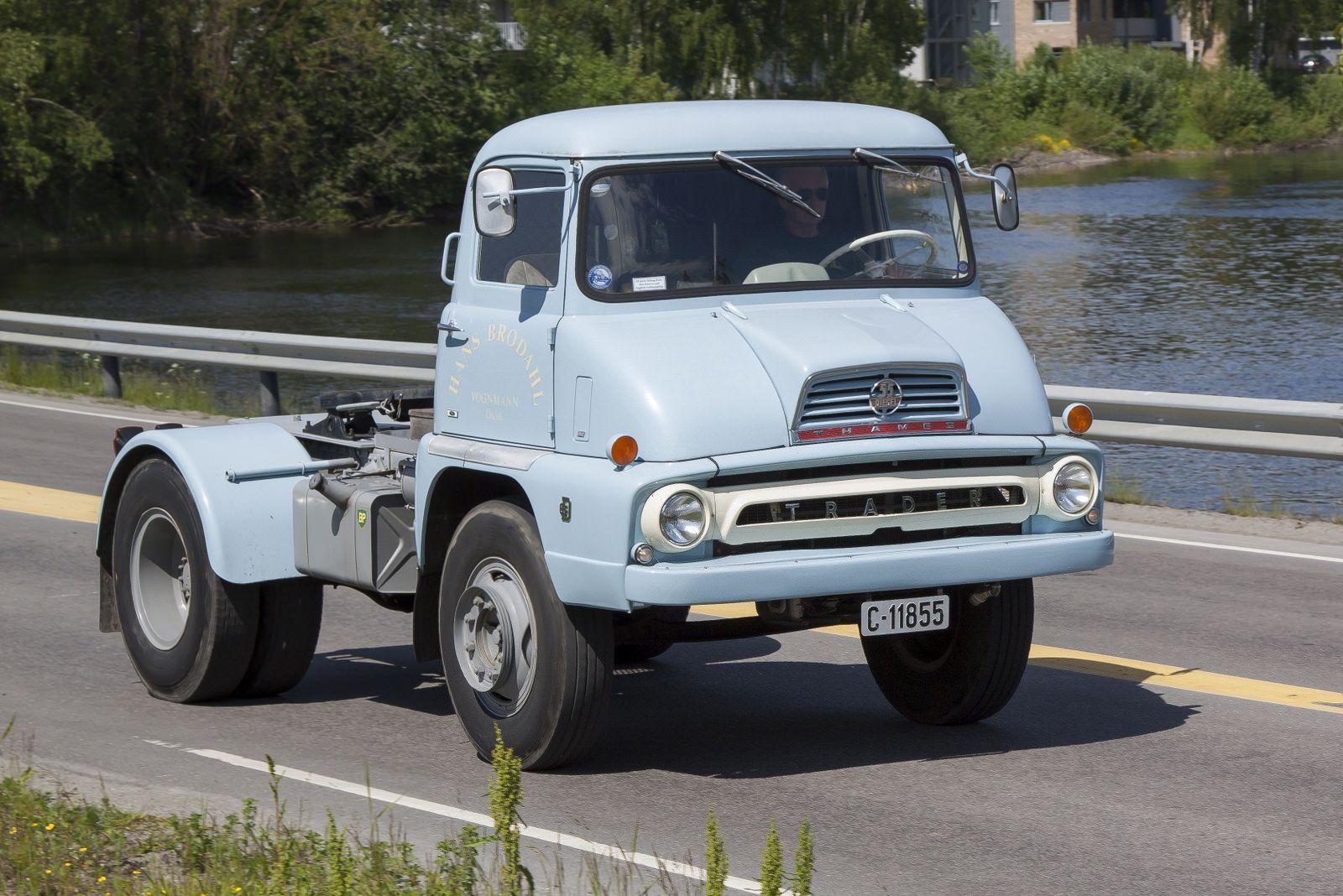 CCMV Classic Commercial Motor Vehicles | Ford Thames Trader FC Mk I ...