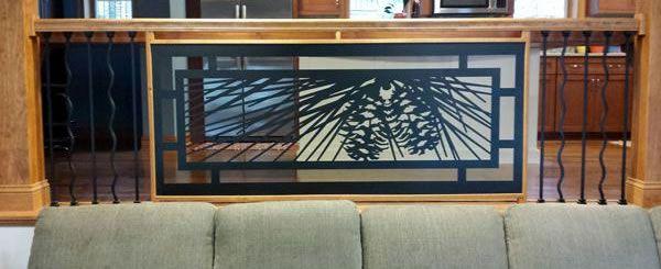 Luxury Indoor Balcony Railing